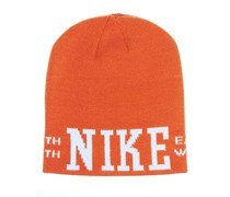 Nike Sb - Enge Mütze Mit Grafik - Mesa Orange/light Bone