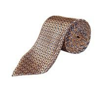 Krawatte (Braun) von Ermenegildo Zegna