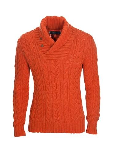 marco polo pullover herren orange. Black Bedroom Furniture Sets. Home Design Ideas