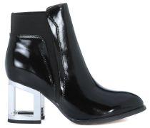 Jeffrey Campbell Stiefelette mit coolem Blockabsatz - schwarz