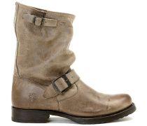FRYE Boots mit Schnallen - braun