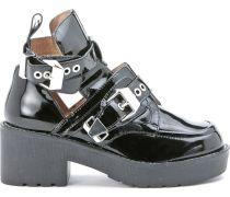 Jeffrey Campbell Stiefeletten mit XXL-Schnallen - schwarz