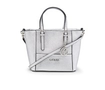 Guess Umhängetasche DELANY MINI - silber