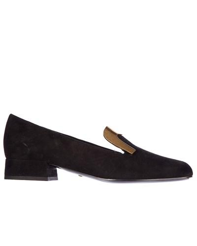 gucci loafers aus wildleder schwarz. Black Bedroom Furniture Sets. Home Design Ideas