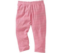 hessnatur geringelte Jersey-Hose, Farbe: pink-geringelt,