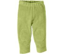 hessnatur Fleece-Hose aus reiner Bio-Baumwolle, Farbe: Grün,