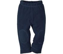 hessnatur Fleece-Hose aus reiner Bio-Baumwolle, Farbe: Blau,
