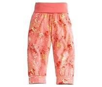hessnatur Bedruckte Hose aus reiner Bio-Baumwolle, Farbe: Mehrfarbig,