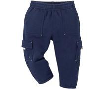 hessnatur Cargohose aus reiner Bio-Baumwolle, Farbe: Blau,
