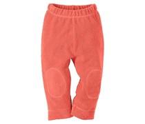 hessnatur Fleece-Hose aus reiner Bio-Baumwolle, Farbe: Orange,