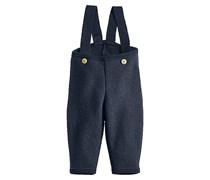 hessnatur Walkhose aus reiner Bio-Schurwolle, Farbe: Blau,