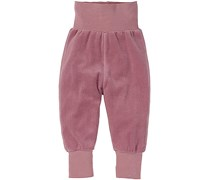 hessnatur Nicki-Hose aus reiner Bio-Baumwolle, Farbe: Lila,