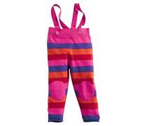 hessnatur Hose aus reiner Lambswool, Farbe: pink-geringelt,