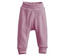 hessnatur Wollfrottee-Hose aus reiner Bio-Merinowolle, Farbe: Beige,