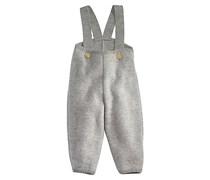 hessnatur Walkhose aus reiner Bio-Schurwolle, Farbe: Grau,