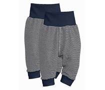 hessnatur Hose aus reiner Bio-Baumwolle, 2er-Set, Farbe: Blau,