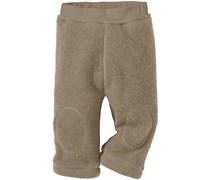 hessnatur Wollfleece-Hose aus reiner Bio-Schurwolle, Farbe: Beige,