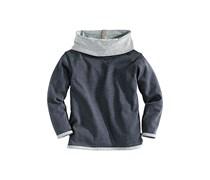 hessnatur Mädchen Sweatshirt aus reiner Bio-Baumwolle, Farbe: Blau,
