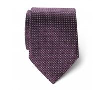 Ermenegildo Zegna - Seidenkrawatte violett