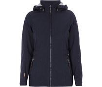 Softshell-Jacke mit abnehmbarer Kapuze