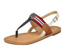 Zehentrenner Sandalen aus Leder