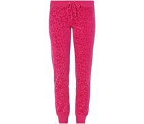 Sweatpants aus Nicki mit Leoparden-Muster