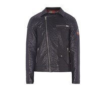 Biker-Jacke in Leder-Optik