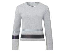 Sweatshirt mit Reflektor-Print