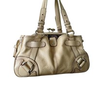 "Preowned Handtasche ""Two in One"" Beige"