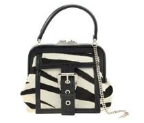 Handtasche im Zebra-Look