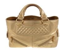 Goldfarbene Metallic-Bag