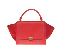 Trapeze Bag in Rot