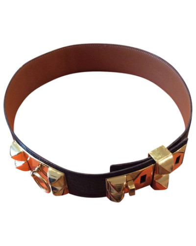 herm s damen preowned g rtel collier de chien reduziert. Black Bedroom Furniture Sets. Home Design Ideas