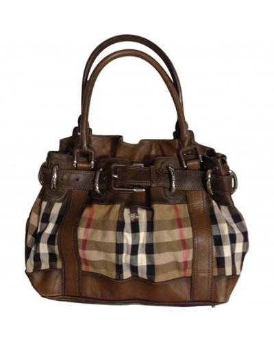preowned damentaschen taschen handtaschen burberry. Black Bedroom Furniture Sets. Home Design Ideas