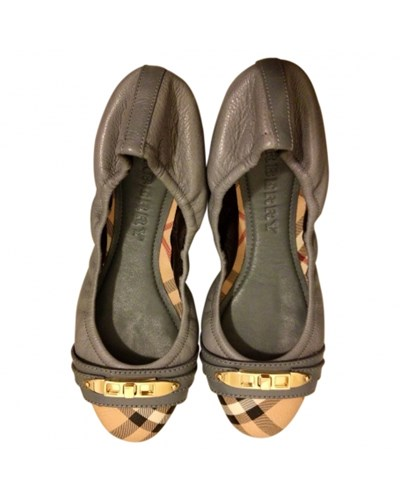 burberry damen second hand damenschuhe schuhe ballerinas. Black Bedroom Furniture Sets. Home Design Ideas