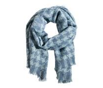 PIECES Großer Schal 'Sima' blau