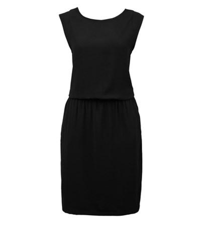 s oliver damen s oliver denim kleid kurz schwarz 15. Black Bedroom Furniture Sets. Home Design Ideas