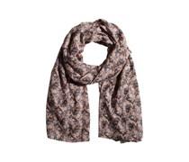 PIECES Schal mit Print 'Oia' mischfarben/rosa