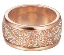 ESPRIT Ring, »dazzle rose, ESRG12247A«, Esprit pink/silber