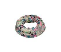 PIECES Tube-Schal aus Viskose 'Natti' pink/grau/mischfarben