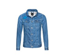 G-STAR RAW Jeansjacke 'Slim Tailor 3D - RAW FOR THE OCEANS' hellblau