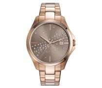 ESPRIT Esprit Armbanduhr, »ES-cecilia rose gold, ES108432003« bunt