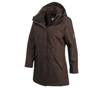 JACK WOLFSKIN Jack Wolfskin 5TH avenue Coat Funktionsmantel braun