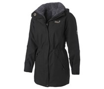 JACK WOLFSKIN Jack Wolfskin 5TH avenue Coat Funktionsmantel schwarz