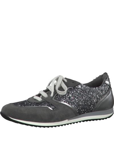tamaris damen tamaris sneaker 39 zola 39 silber grau reduziert. Black Bedroom Furniture Sets. Home Design Ideas