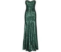 Four Flavor Langes Abendkleid 'Larina' smaragd