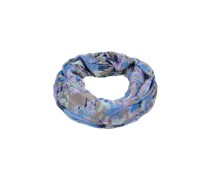 PIECES Leichter Loop-Schal 'Natara' blau/mischfarben