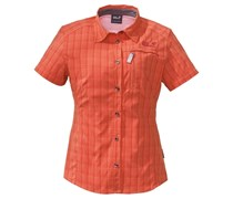 JACK WOLFSKIN Jack Wolfskin Shirts »MOUNTAIN STRETCH SHIRT WOMEN« flamingo