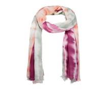 PIECES Viskoseschal mit Fransensaum 'Nille' pink/mischfarben