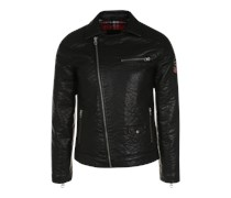 Pepe Jeans Jacke im Biker-Style 'Glandon' schwarz